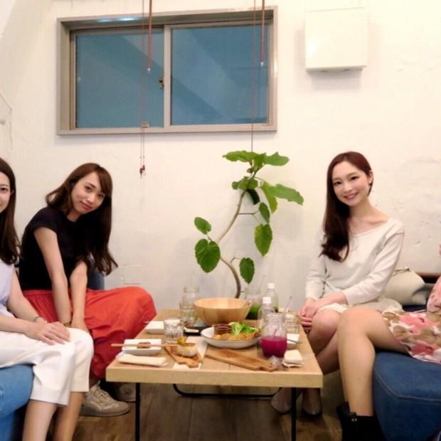 【食べて美しく♬】オーガニックカフェで美セレブ女子会