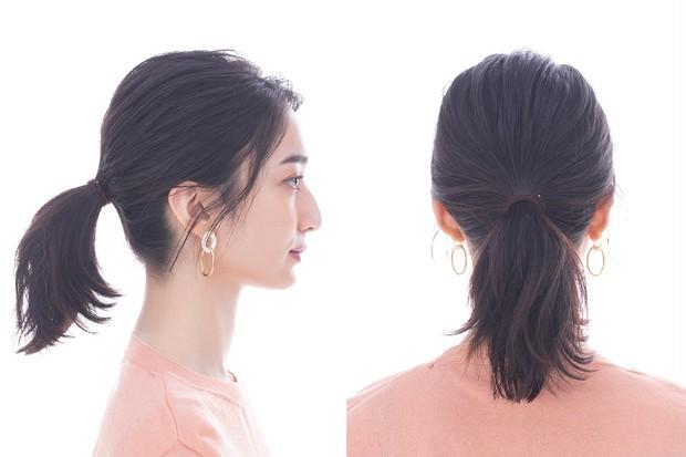 シンプルなヘアアレンジこそベースづくりが鍵! ウェット&ドライな質感で今っぽ髪に<動画つき!> _2