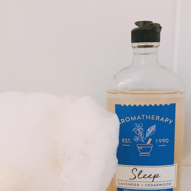 Bath and Body Works アロマセラピーシリーズのボディウォッシュで癒しのバスタイム♪