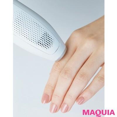 【ムダ毛処理・お手入れ】白魚のような指に、ざんねんな毛は不要。家庭用脱毛器を使えば、スピーディにケアできる。