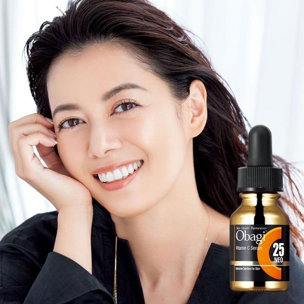 中林美和さんも夢中。オバジC25セラムネオで美肌を育んで。