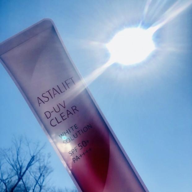 この輝きは自信作!アスタリフトの美白シリーズで紫外線対策!
