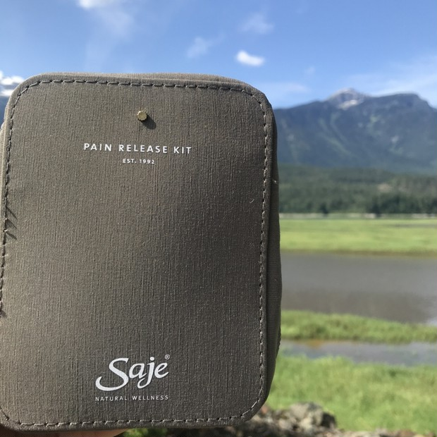 Saje Natural Wellness♡ カナダのナチュラルコスメブランド♡ Pain Releace kitで痛みケア♪