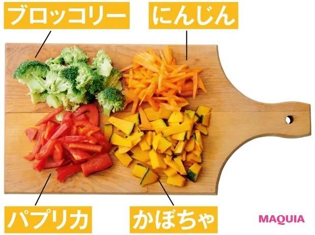 【美容スープレシピ】緑黄色野菜たっぷりで抗酸化パワー絶大 「かぼちゃとブロッコリーのオイスターソーススープ」材料