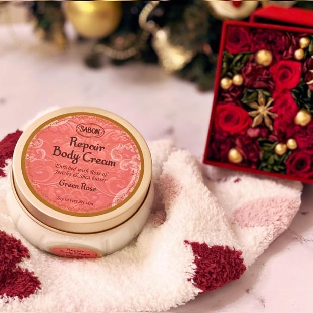 【ボディクリーム】極上の香りに包まれながら、乾燥ダメージを集中ケア♡SABON リペアボディクリーム