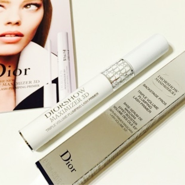 リニューアルしたDiorの、革新的な美容液マスカラベースで、一日ケアができるモフモフ3次元まつ毛へ!❤️