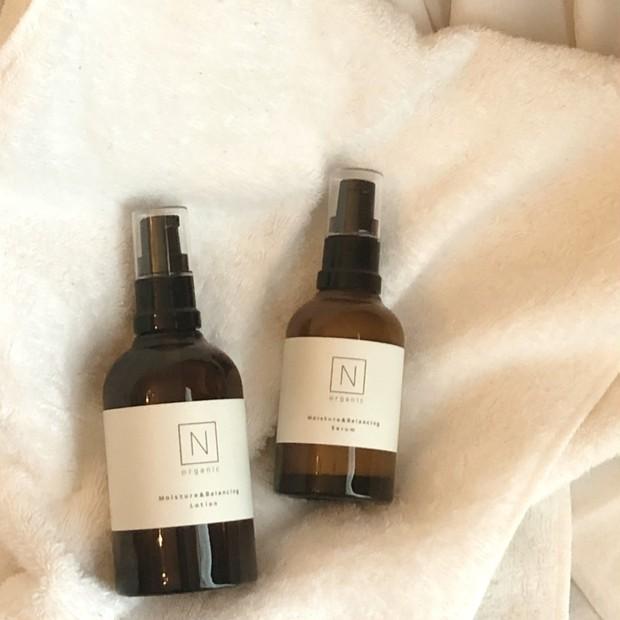 保湿だけじゃなく。癒されたい時のスキンケアはNオーガニックの化粧水と美容液。