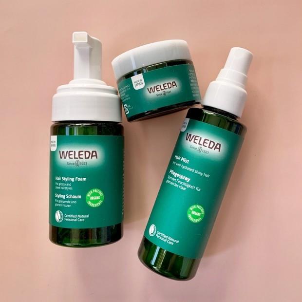 「ヴェレダ」初のスタイリングラインは日本開発処方。植物の恵みたっぷりのワックス、ミスト、ヘアフォームが登場