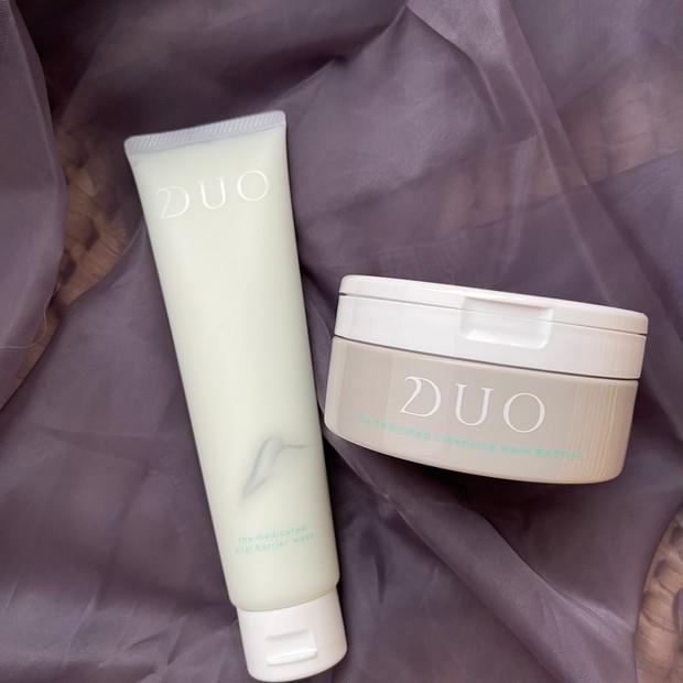 肌バリアを高めるクレンジング、洗浄剤フリー洗顔の優しさ【DUO】