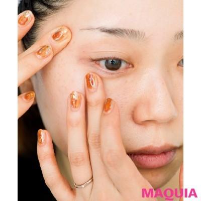 【肌をもっと綺麗に! 肌本来の美しさを引き出すスキンケア】目のキワまでしっかり手をかけて