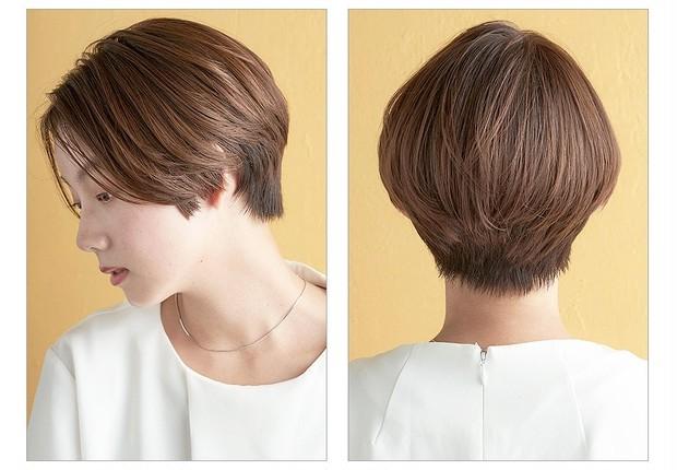 【大人のショートヘア】360°美しいシルエットなハンサムショートヘア_2
