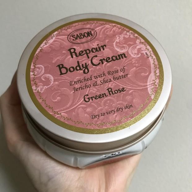これからの季節に使いたい♪【SABON】 リペアボディクリーム グリーン・ローズ