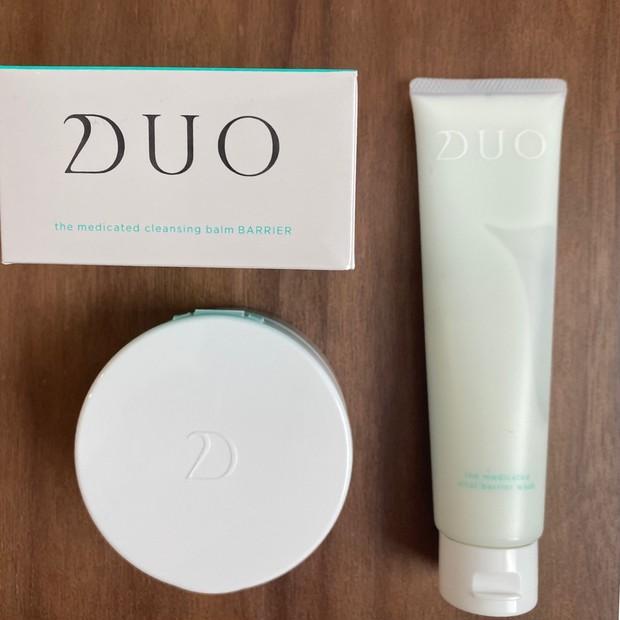 【DUO】ミルク状洗顔料 ザ 薬用バイタルバリアウォッシュ&敏感肌向け ザ 薬用クレンジングバーム バリア