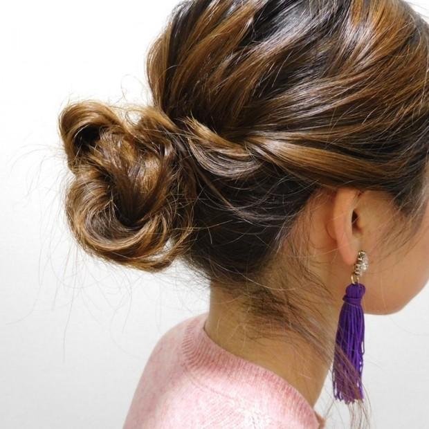 大人女子会に!5分で大人な雰囲気のまとめ髪