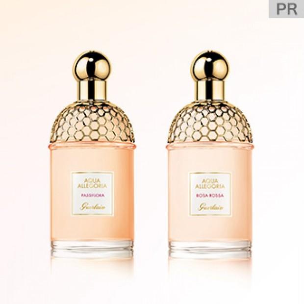 """シュッとひと吹きで、自然の楽園へと誘われる至福の香り。「ゲラン」の""""アクア アレゴリア""""から2つの香りが新登場!"""