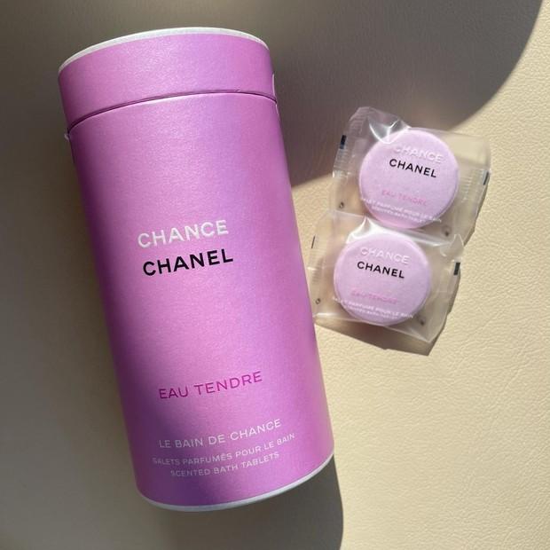 シャネルの人気フレグランス【チャンス オー タンドゥル 】から入浴剤が限定で登場 !