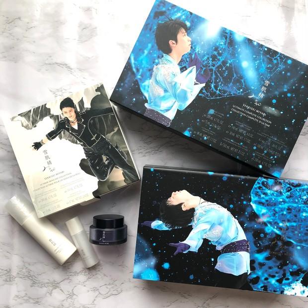 羽生 結弦さん × 雪肌精 みやび スペシャルコラボレーション限定キット【YU ZU RU Collection】