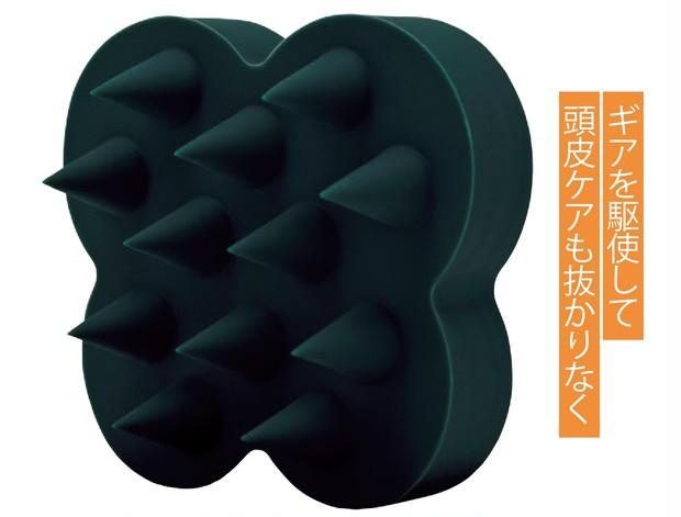 uka スカルプブラシ ケンザン バリカタ ¥2000/uka Tokyo head office