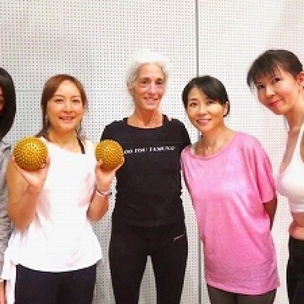 ヤムナ・ゼイクのセッションで美と健康へまっしぐら