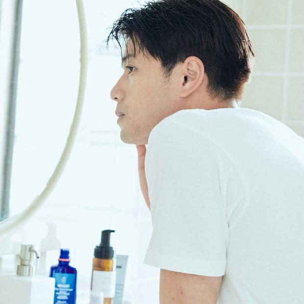 マスクで男性も肌あれ注意報! 乾燥しやすくデリケートな肌は水分と油分のバランスで守る!
