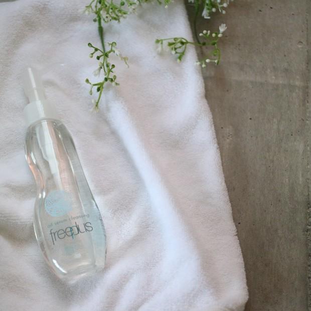 【freeplus】敏感肌研究から生まれた美容液オイル88%の低刺激オイルセラムクレンジング!