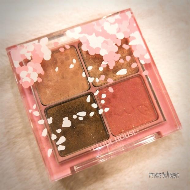 春に使いたくなる!ピンク色が激カワ★桜アイシャドウを試してみた♪