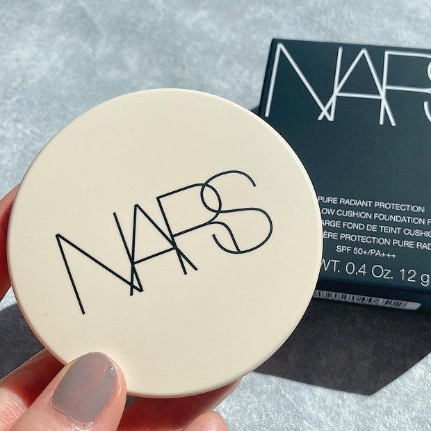 《NARS新しいクッションファンデ》夏に大活躍!紫外線ブロック&崩れにくく、ナチュラルなツヤと透明感を演出♡