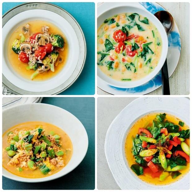 【Atsushiさんの美容スープレシピ】ダイエットや美腸に! 野菜や豆乳などおすすめの食材は?