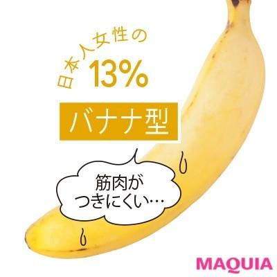 【食べ痩せダイエット】Q.バナナ型の食べ痩せ法は?