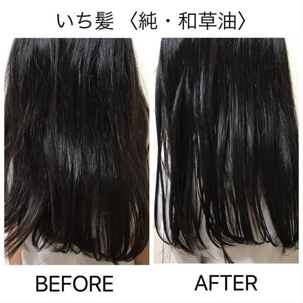 まとまる髪を手に入れよう!洗い流さないトリートメントオイル 【いち髪 純・和漢油】_1