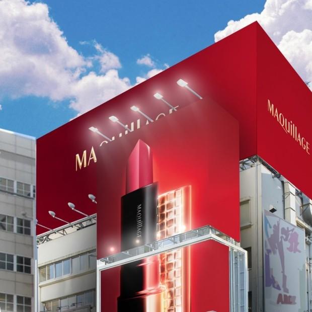 マキアージュ誕生10周年! 憧れの「赤」を気軽に体験できるポップアップストア オープン!