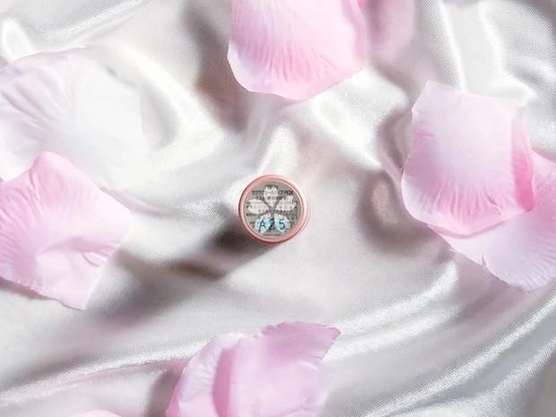 【桜コスメ】「パラドゥ」限定色の桜お守りリップ_