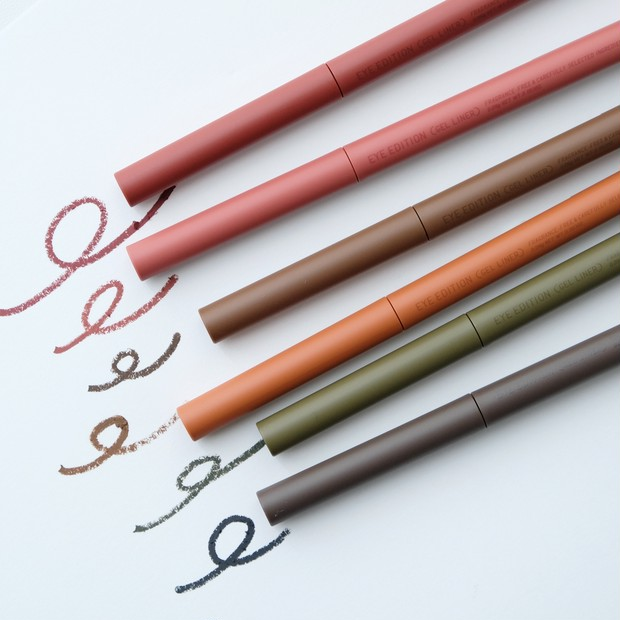 本当にプチプラ!? エテュセの新コンビアイカラー全6色&ジェルライナーを試してみた #プチプラコスメは水曜日に_10