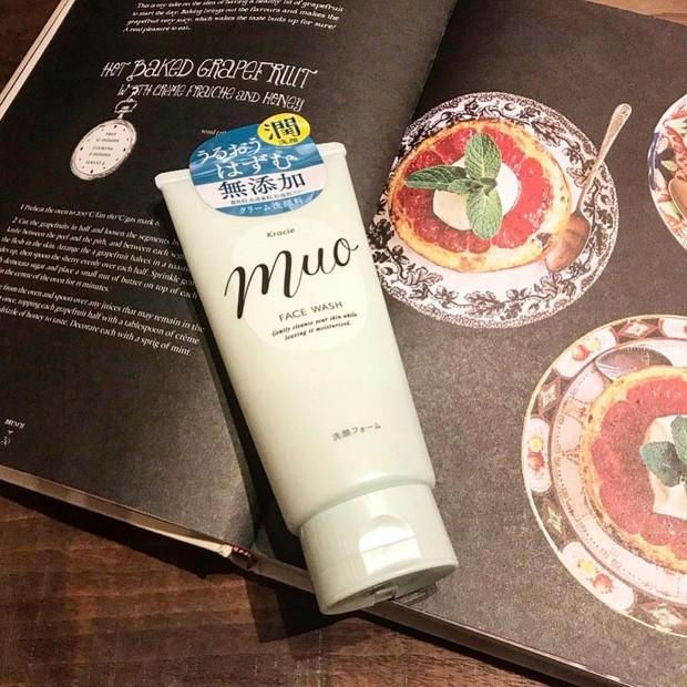 最近愛用中!【muoのプチプラ洗顔】優しい処方で洗い上がりもしっとり◎