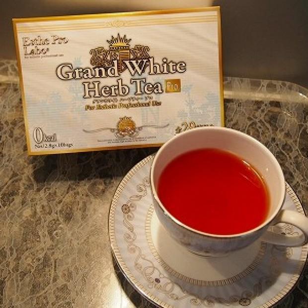 お気に入りのハーブティー♡Grand White Herb Tea
