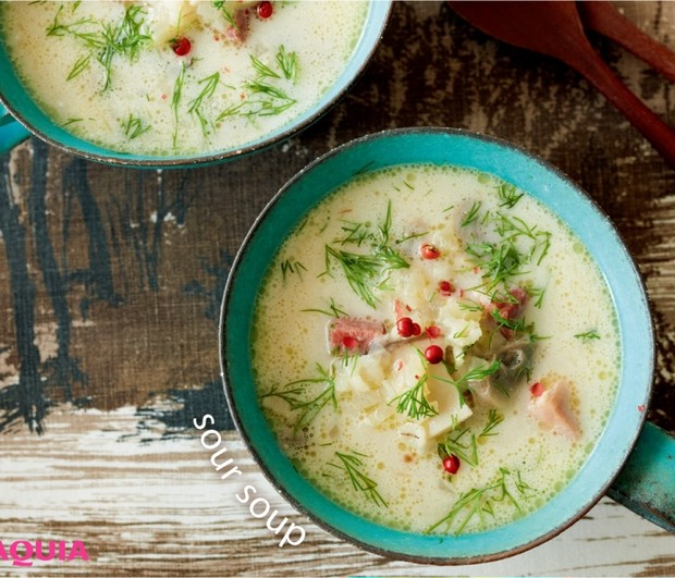 体をあたため、お腹もすっきり!「東欧風 きのこと押し麦のサワースープ」レシピ