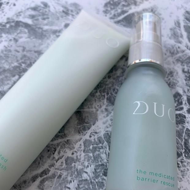 【肌あれ・ゆらぎ肌】DUO薬用バリアシリーズでお肌のバリア機能UP!