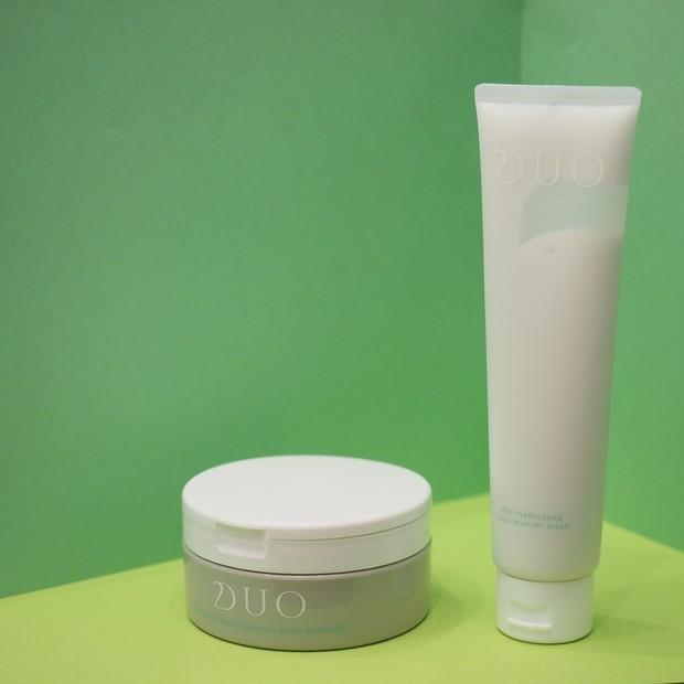 【乾燥肌・敏感肌向け】「DUO 薬用シリーズ」で摩擦レスな潤い洗顔とクレンジングを!