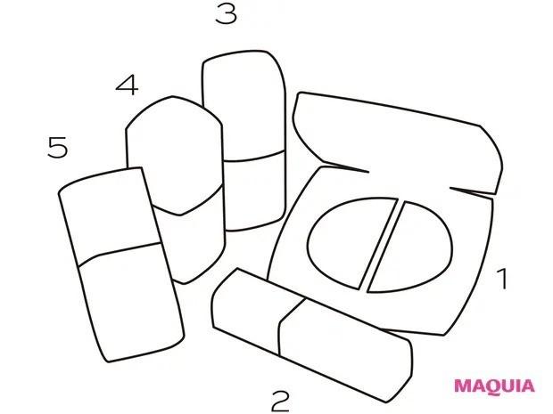 【春メイク2021】シャネルの春コスメを使った春メイク_ネイル、リップ、チーク&ハイライター2