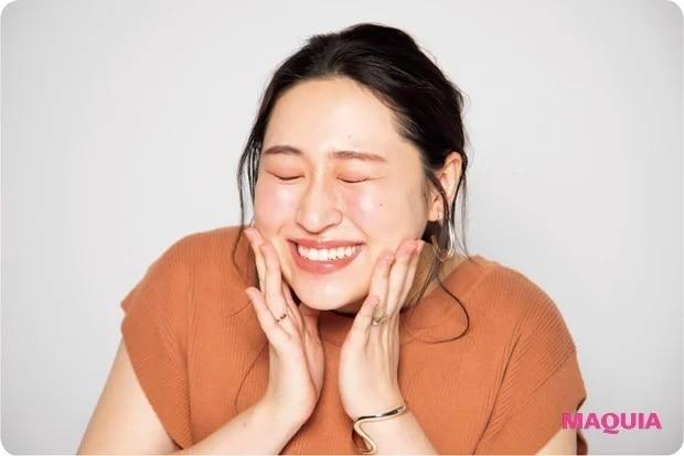 丸山礼さん実演・オンラインでの美人角度_