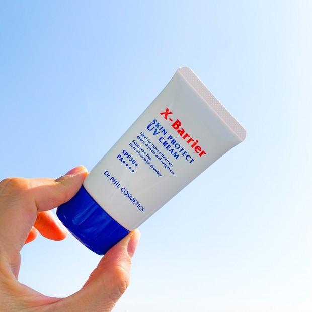 【乾燥・肌荒れもケアする日焼け止め】エクスバリア スキンプロテクト UVクリーム