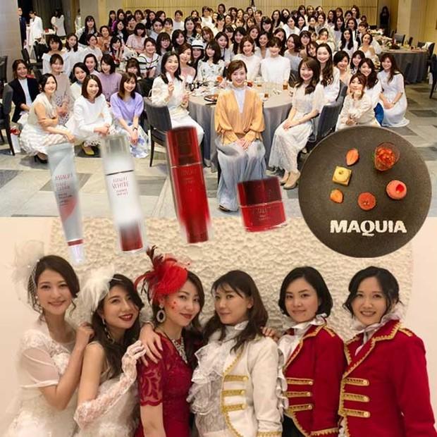 【オフ会&お土産レポ♡︎】美肌劇団アスタリフト加入♡︎2019年MAQUIAオフ会&豪華お土産10品レポ♡︎
