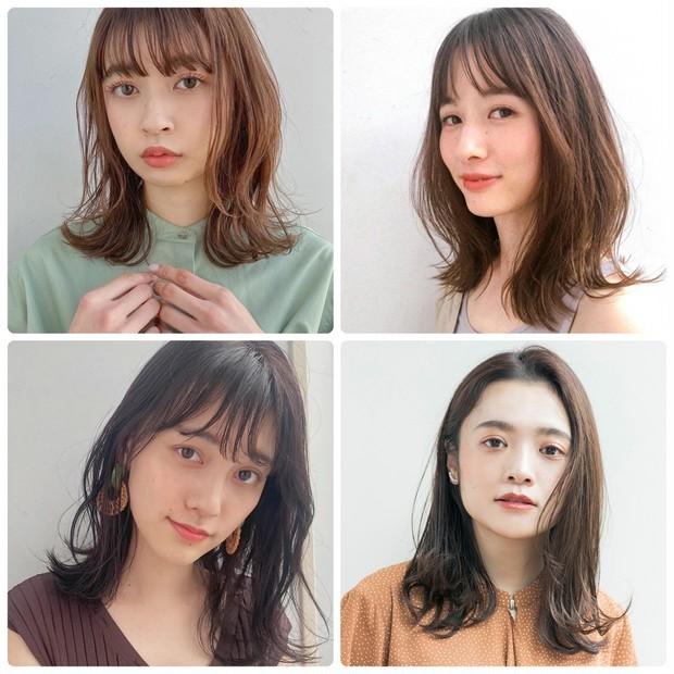 【ヘアカタログ】ミディアムのヘアスタイル・髪型15選