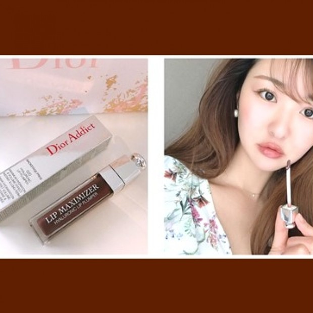 夏の透けブラウン♡ Diorマキシマイザー春夏新色レビュー