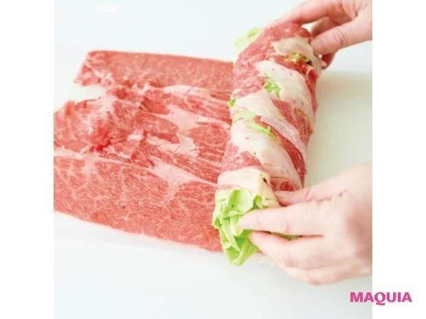 【平野レミさんの簡単レシピ】春キャベツを使ったレシピ_「ギュウギュウの牛カツ」作り方
