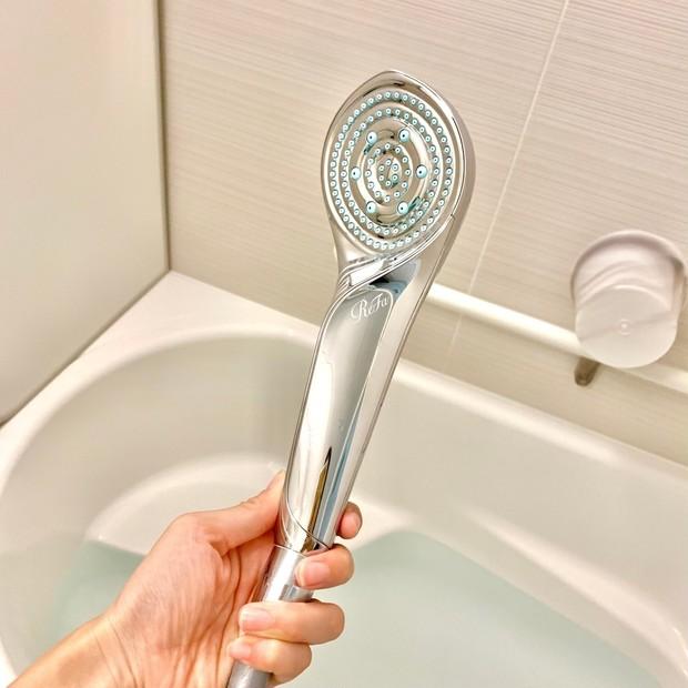 【リファ】話題のシャワーヘッドを試してみました【おうち時間向上】