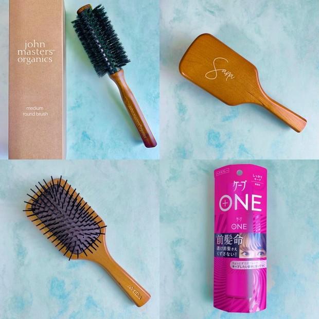 【ヘア】猫っ毛でもふんわりヘアを作れるブラシ2本と愛用中のスプレーをご紹介