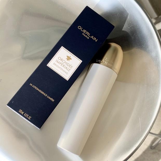 【春コスメ2021】ゲラン最高峰の「オーキデ アンぺリアル」初のブライトニング化粧水で、マスク生活での肌くすみや色むらを解消! #金曜日の肌投資コスメ _1