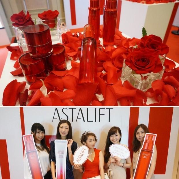 【ビューティシェア】赤の力で幸せに♡アスタリフトの化粧水♫