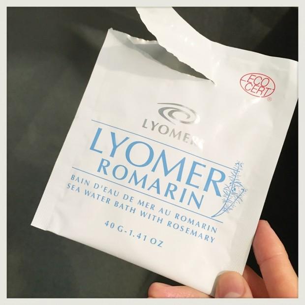 LYOMER LOMARINリヨメールロマランでリラックス☆デトックス☆